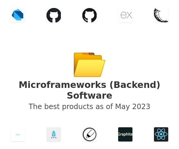 Microframeworks (Backend) Software