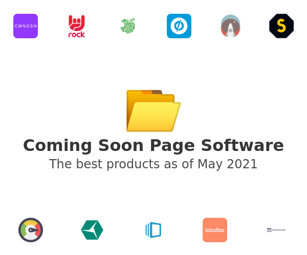 Coming Soon Page Software