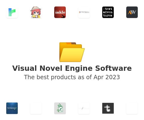 Visual Novel Engine Software