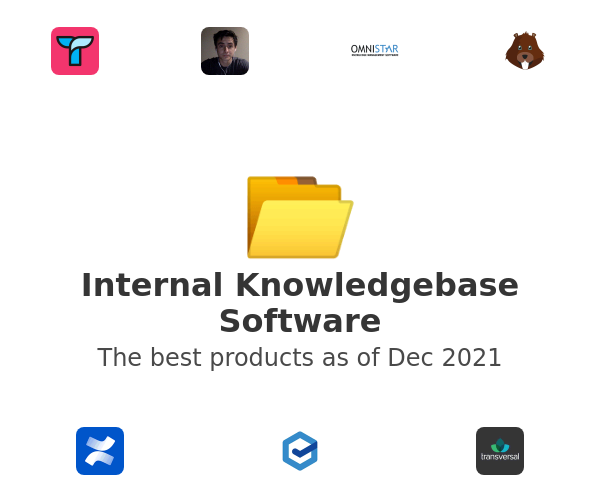 Internal Knowledgebase Software