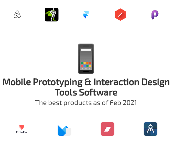 Mobile Prototyping & Interaction Design Tools Software