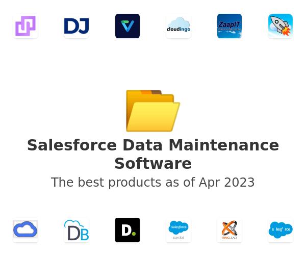 Salesforce Data Maintenance Software