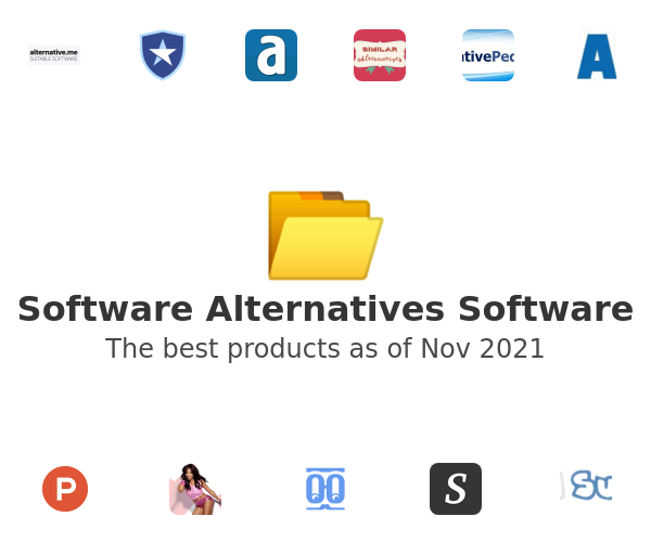 Software Alternatives Software