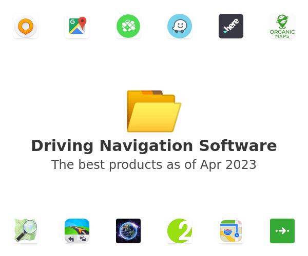Driving Navigation Software