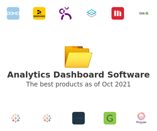 Analytics Dashboard Software