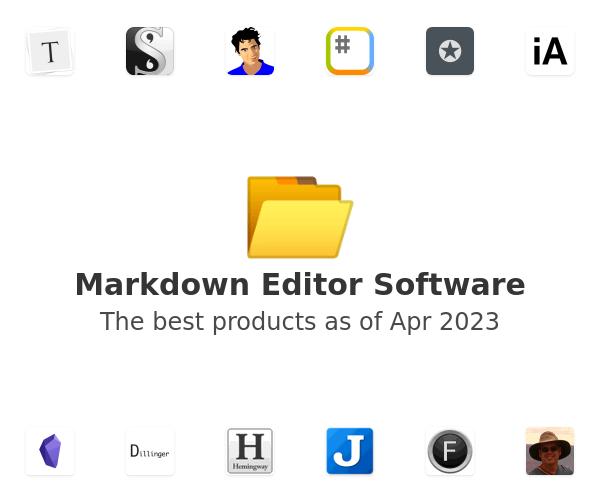 Markdown Editor Software