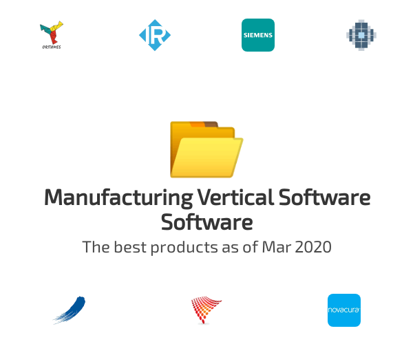 Manufacturing Vertical Software Software