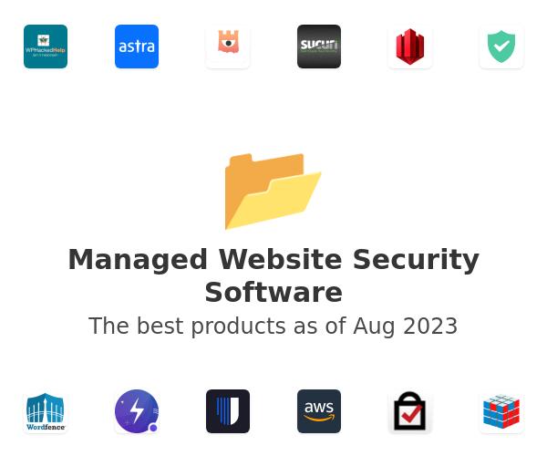 Managed Website Security Software
