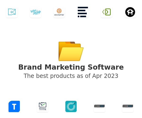 Brand Marketing Software