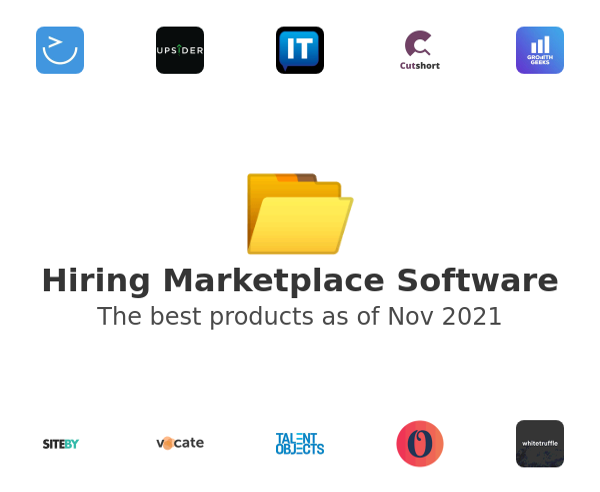 Hiring Marketplace Software