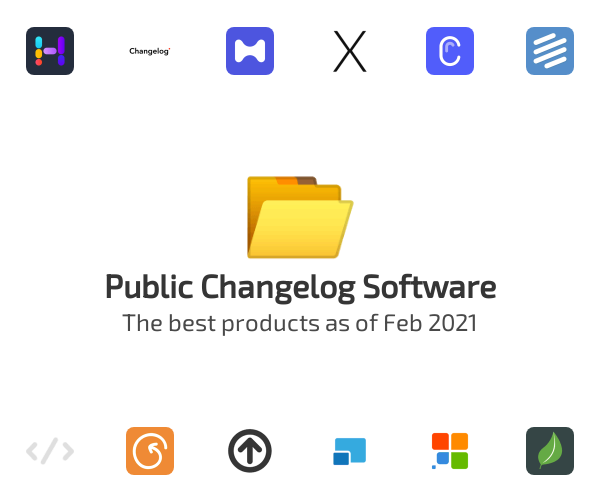 Public Changelog Software