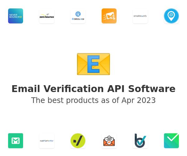 Email Verification API Software
