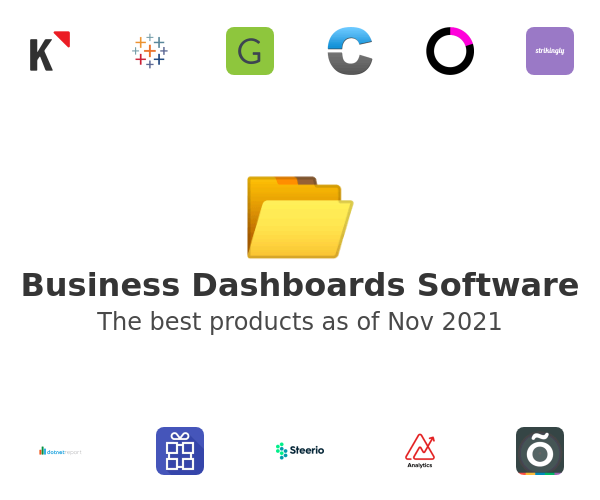 Business Dashboards Software