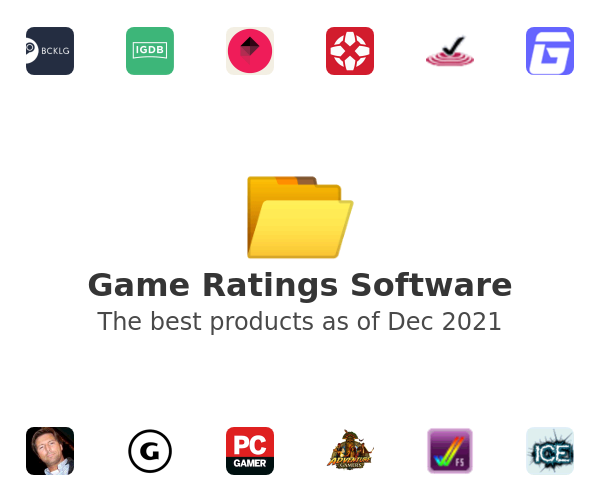 Game Ratings Software