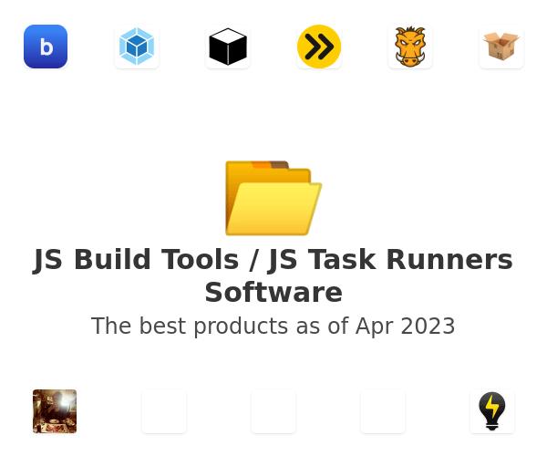 JS Build Tools / JS Task Runners Software