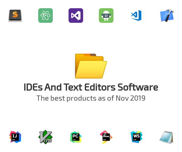 IDEs And Text Editors Software