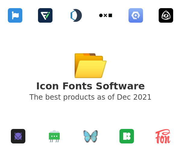 Icon Fonts Software