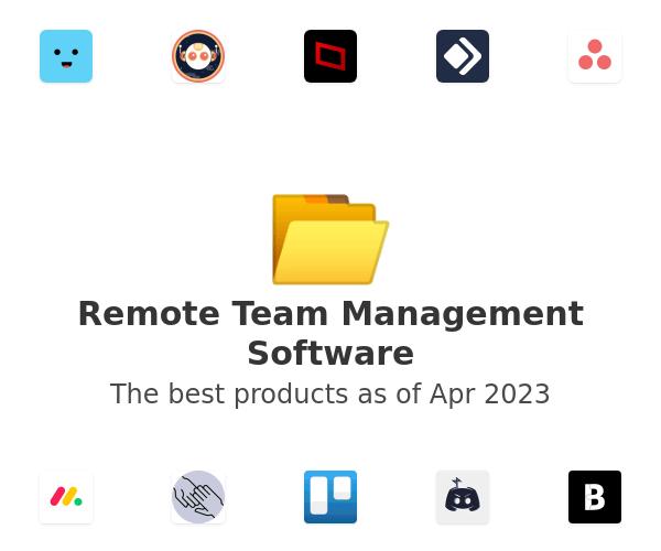 Remote Team Management Software