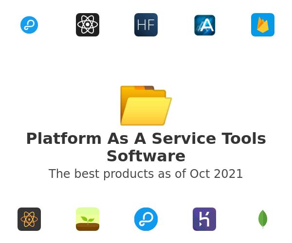 Platform As A Service Tools Software