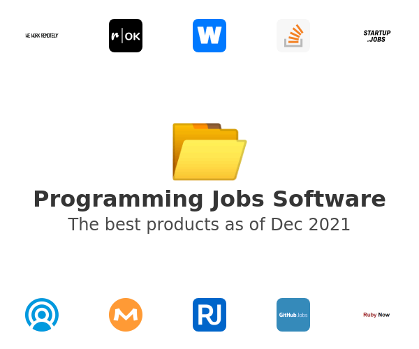 Programming Jobs Software