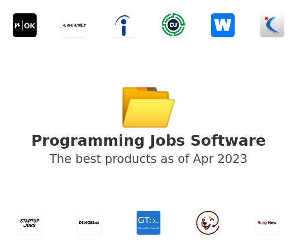 Programming Jobs Software