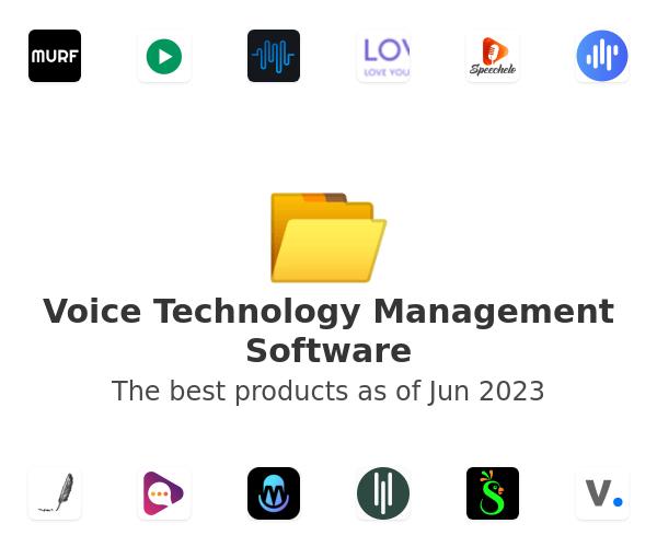 Voice Technology Management Software
