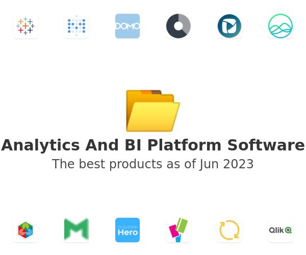 Analytics And BI Platform Software