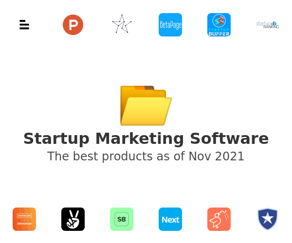 Startup Marketing Software