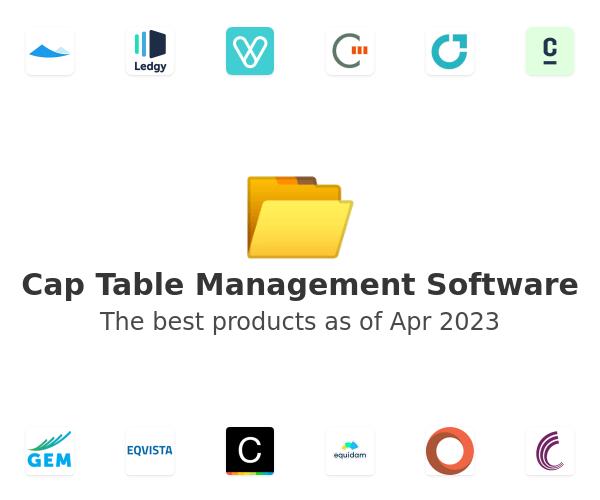 Cap Table Management Software