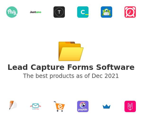 Lead Capture Forms Software
