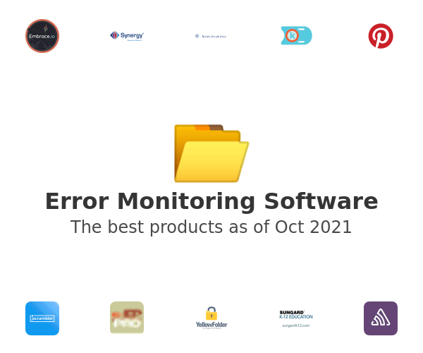 Error Monitoring Software