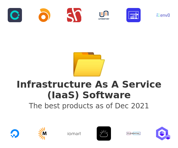 Infrastructure As A Service (IaaS) Software