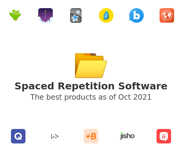 Spaced Repetition Software