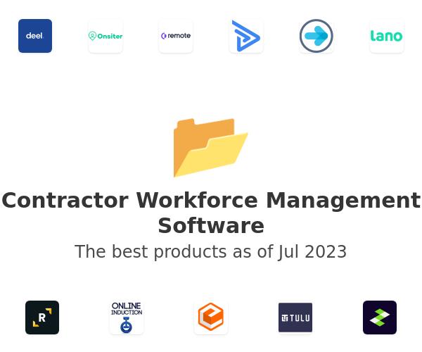 Contractor Workforce Management Software