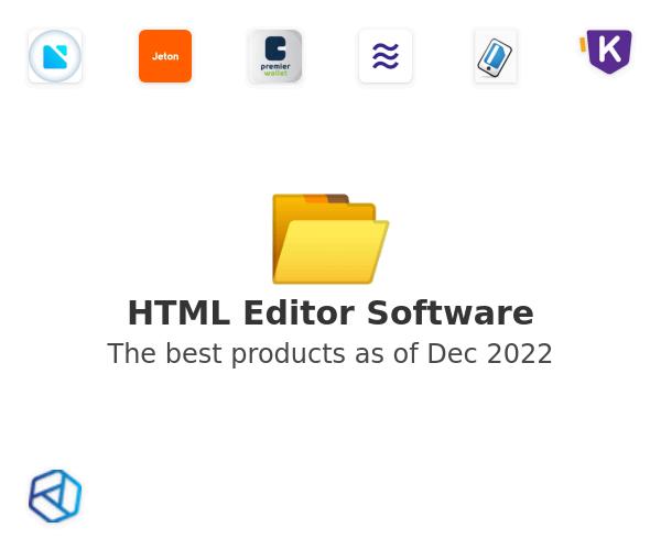 HTML Editor Software