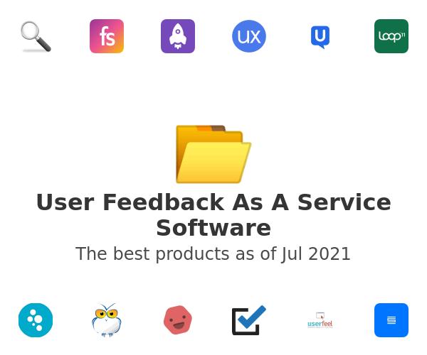 User Feedback As A Service Software