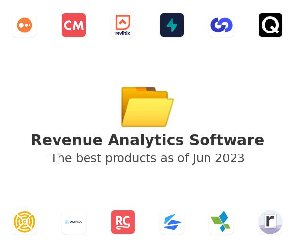 Revenue Analytics Software