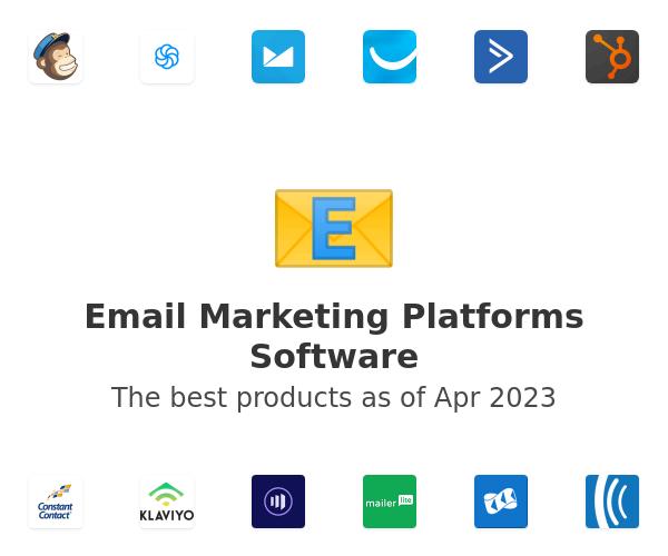 Email Marketing Platforms Software