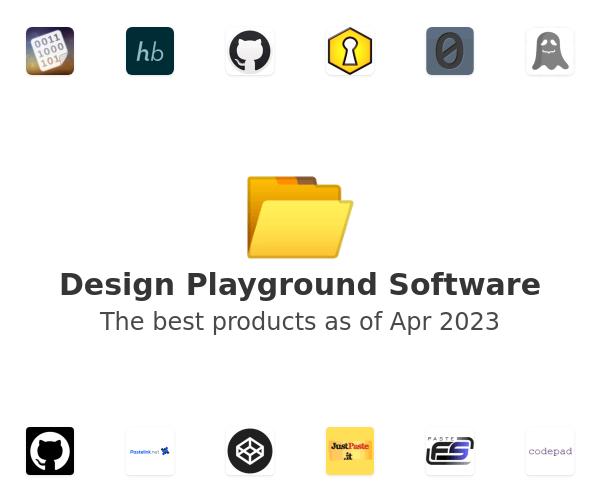 Design Playground Software