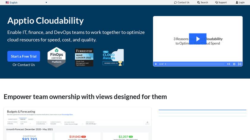 Cloudability Landing Page