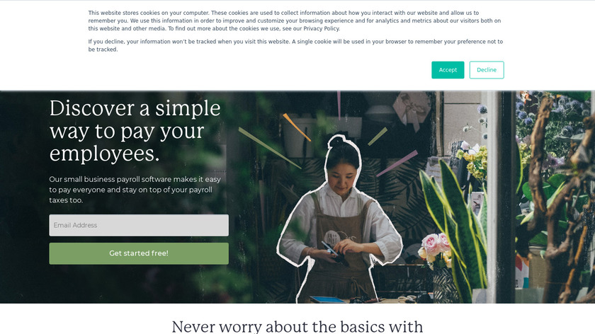 Wagepoint Landing Page