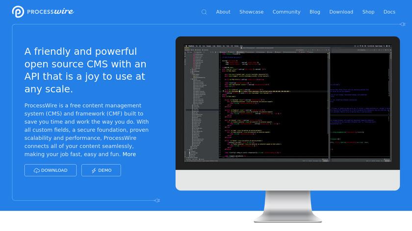 ProcessWire Landing Page
