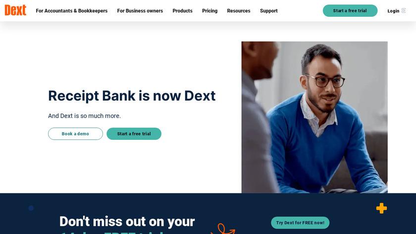 Receipt Bank Landing Page