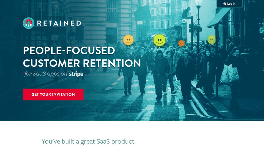 Retained Landing Page