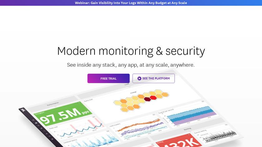 Datadog Landing Page