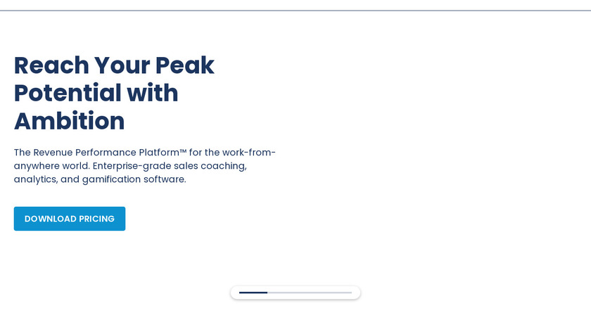Ambition Landing Page