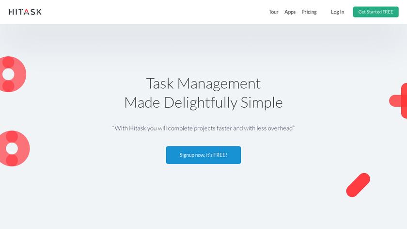 hiTask Landing Page