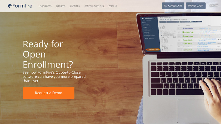 FormFire Landing Page