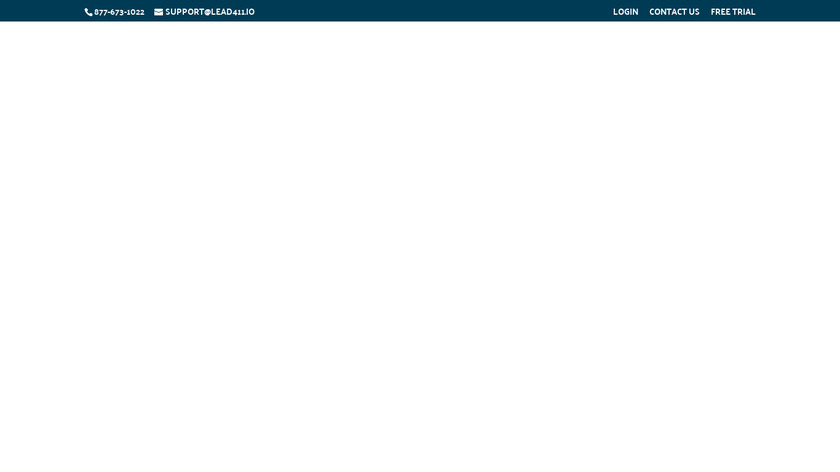 Lead411 Landing Page