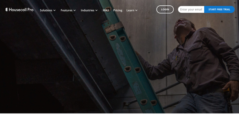 HouseCall Pro Landing Page